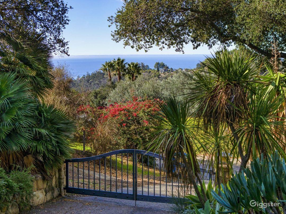 Montecito Ocean View Ranch Estate Photo 1