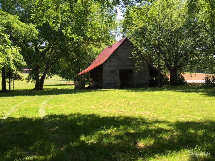 c1850 Barn on 12 acres in Nashville, TN.
