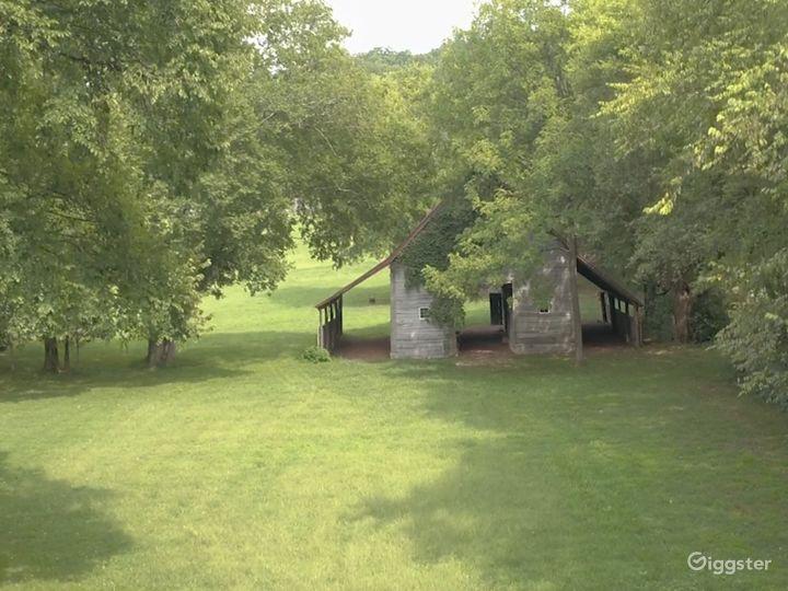 c1850 Historic Barn on 12 acres in Nashville, TN.