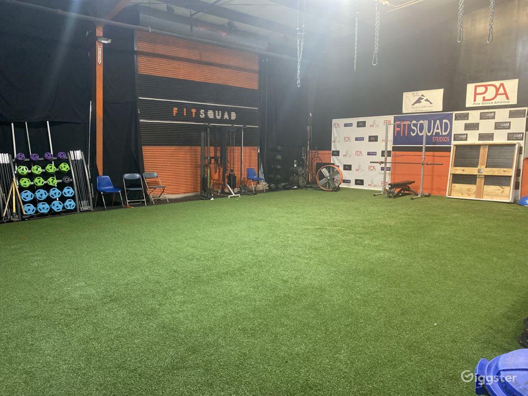 Strikingly Wide 3000 sq. ft. Fitness Studio in Atlanta Photo 1