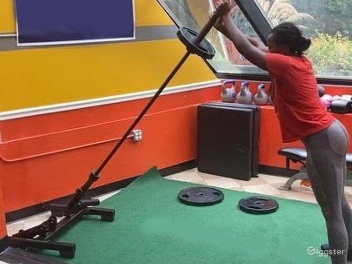 Strikingly Wide 3000 sq. ft. Fitness Studio in Atlanta Photo 5