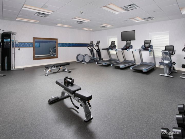 A Modern Gym in Miami