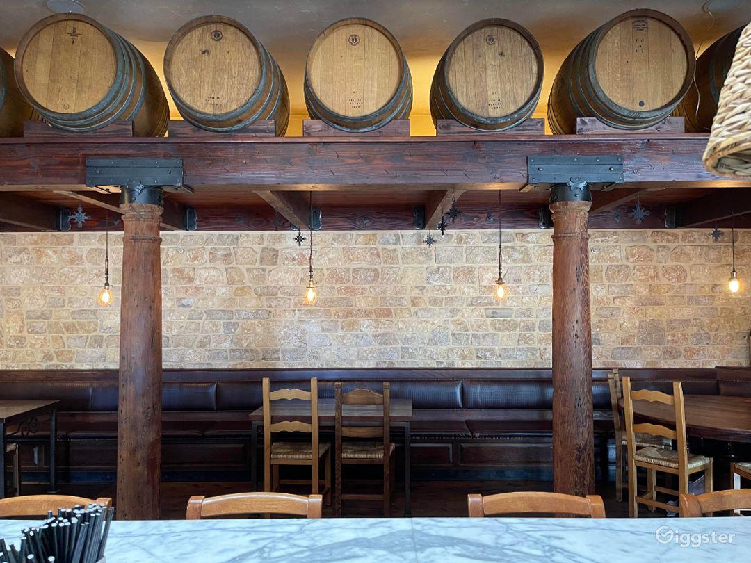 Wonderful Wine Barrel Room Photo 1