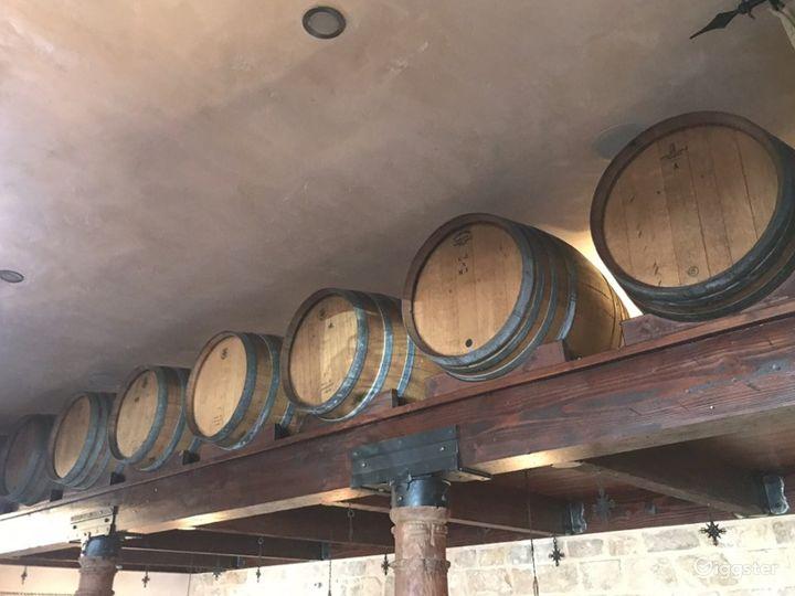 Wonderful Wine Barrel Room Photo 3