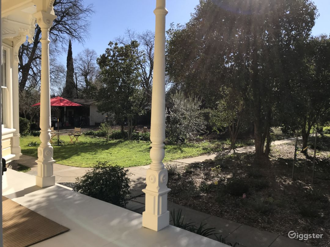 View from wraparound porch