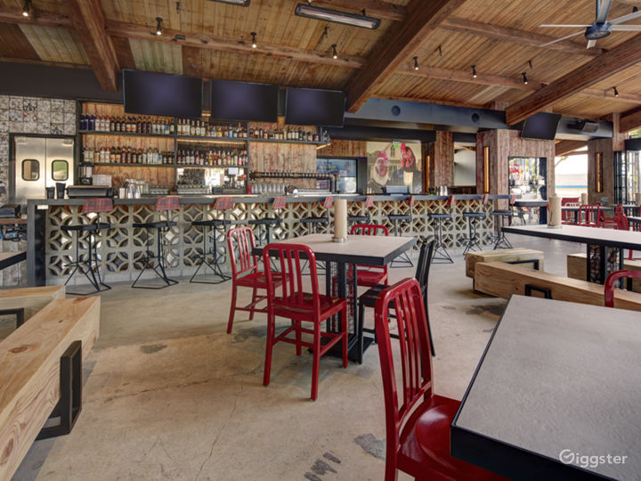 Modern, Rustic, Restaurant Event Space  Photo 4