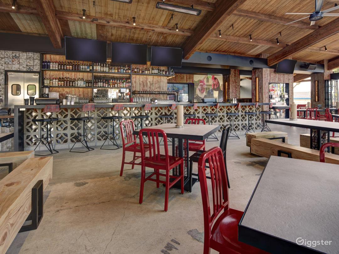 Modern, Rustic, Restaurant Event Space  Photo 4