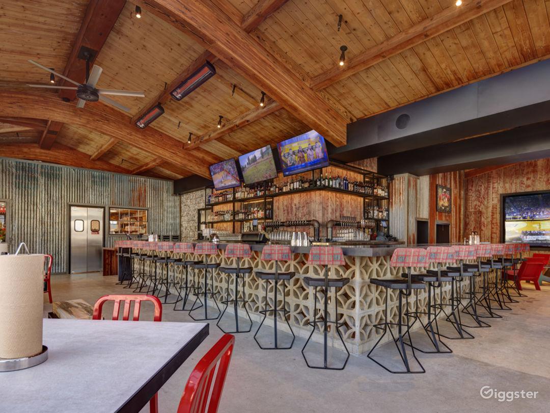 Modern, Rustic, Restaurant Event Space  Photo 3