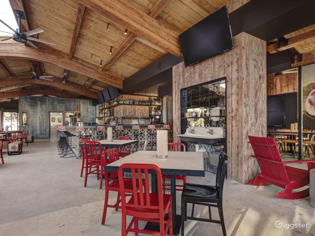 Modern, Rustic, Restaurant Event Space  Photo 2