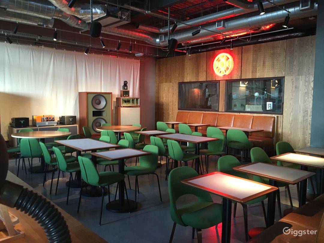 Café and Bar Home to  World-Class Living Voice Sound System Photo 1