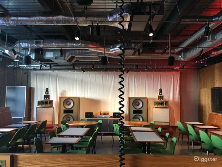 Café and Bar Home to  World-Class Living Voice Sound System Photo 2