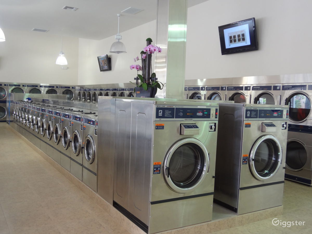 The Perfect Laundromat/Coin Laundry Space