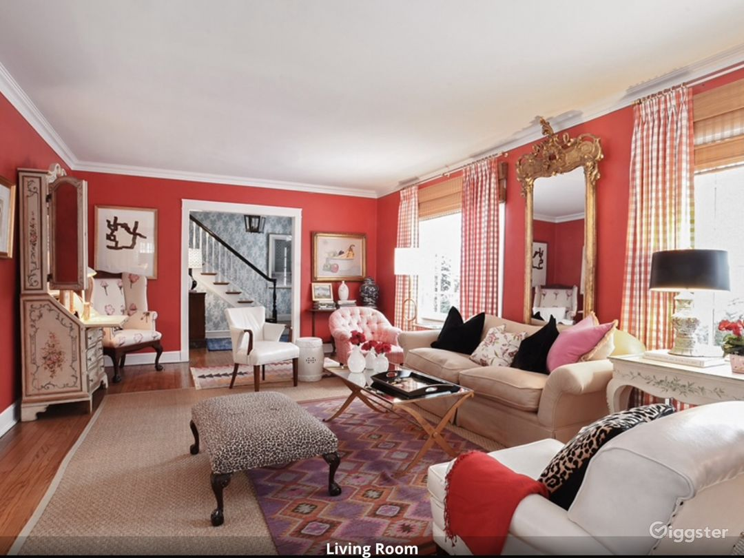 Lovely English living room