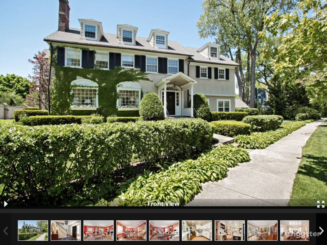 Gorgeous curb appeal on quiet street in beautiful neighborhood