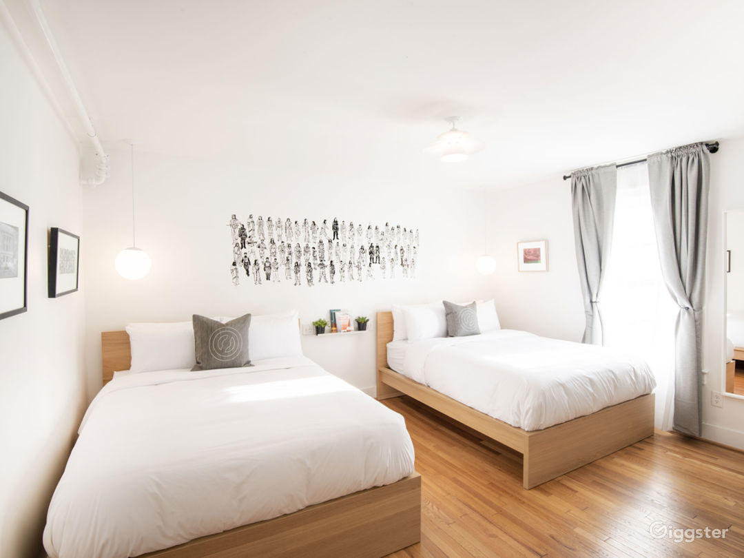 Private Double Queen Room
