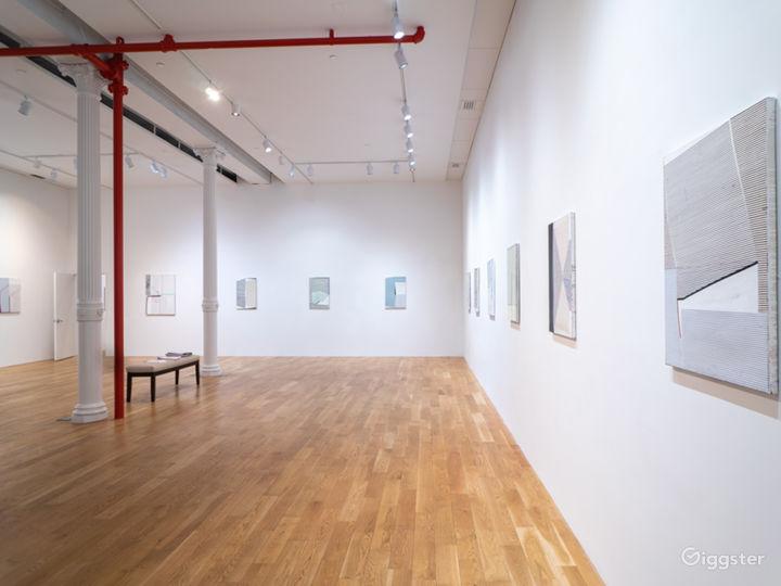Spacious Contemporary Art Gallery in SoHo, NYC
