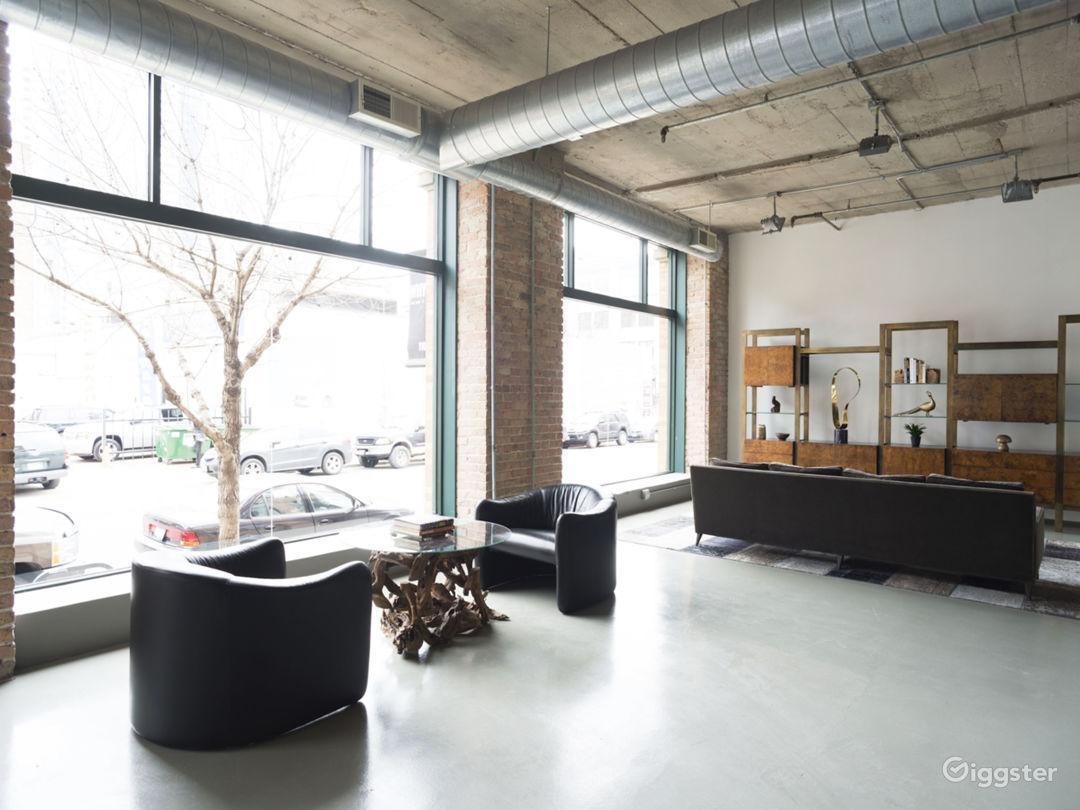 Large Modern West Loop Loft Space Photo 4