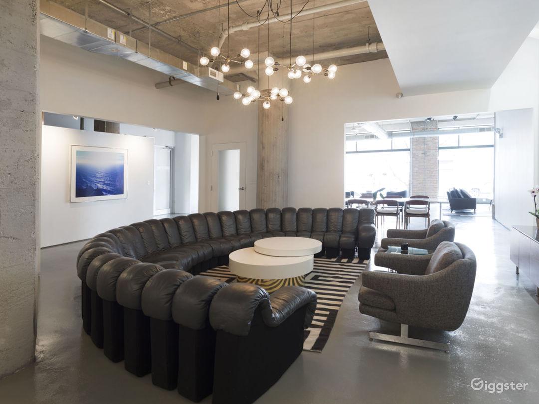 Large Modern West Loop Loft Space Photo 1