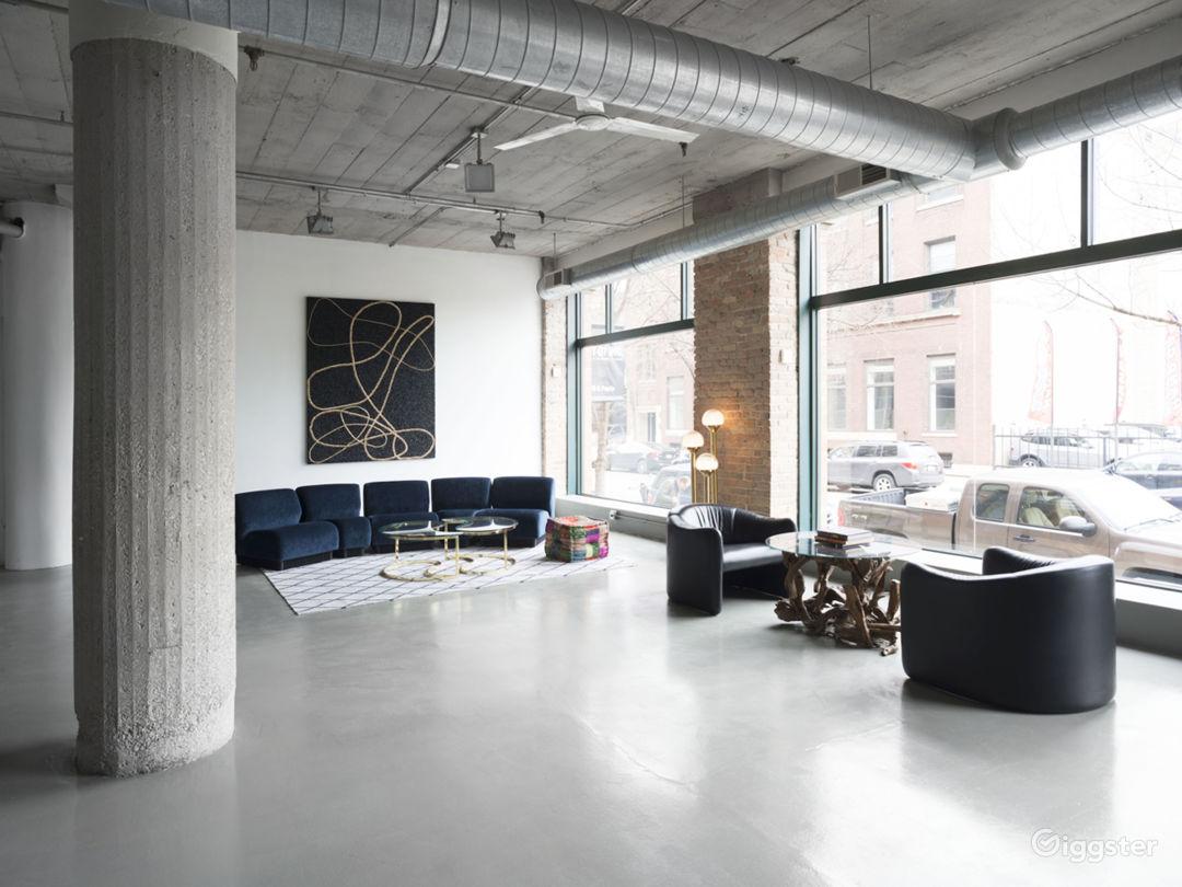 Large Modern West Loop Loft Space Photo 2