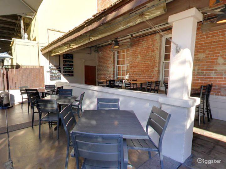 Historic Patio and Balcony Dining Space in Arizona Photo 3