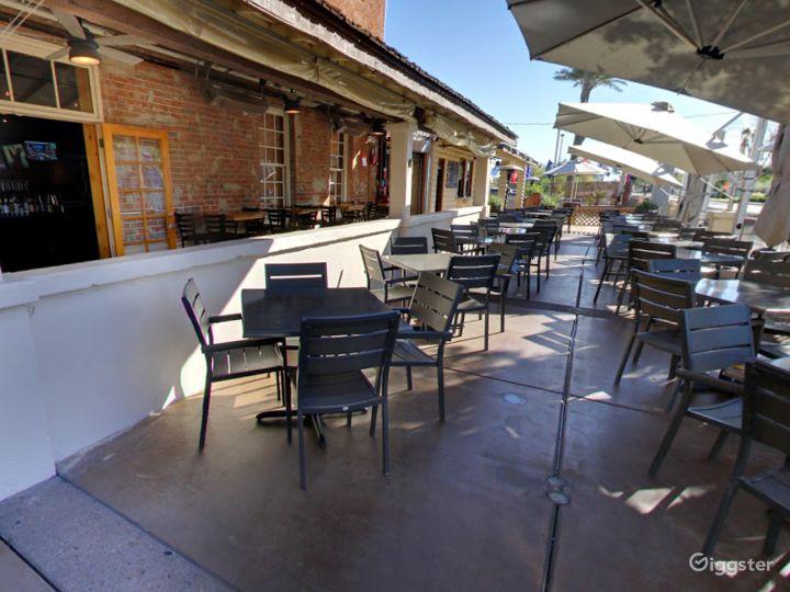 Historic Patio and Balcony Dining Space in Arizona Photo 2