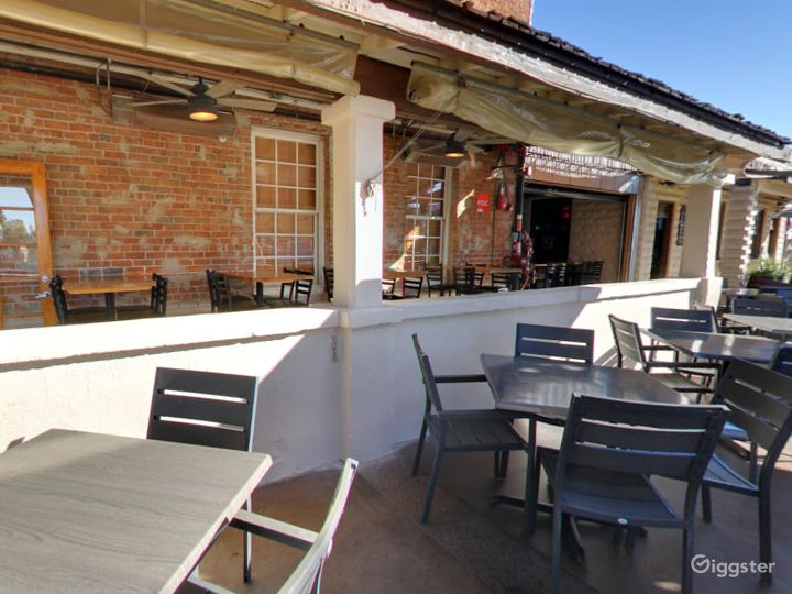 Historic Patio and Balcony Dining Space in Arizona Photo 4