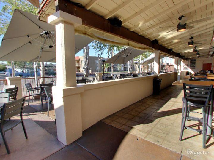 Historic Patio and Balcony Dining Space in Arizona Photo 5