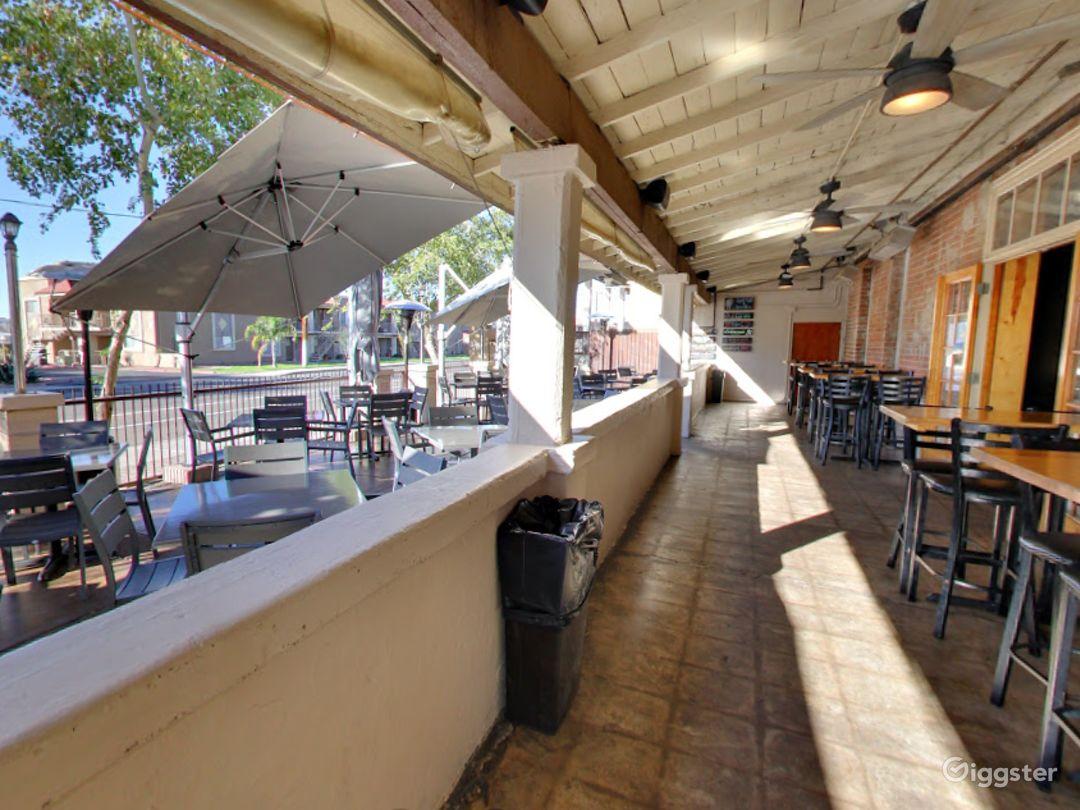Historic Patio and Balcony Dining Space in Arizona Photo 1