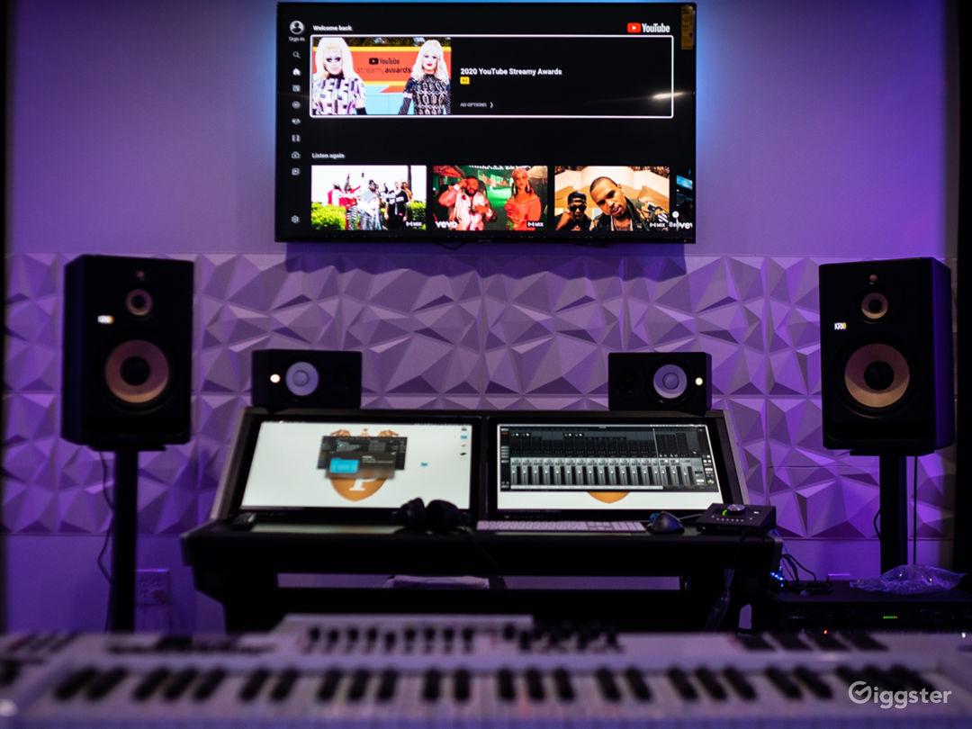 Main recording studio