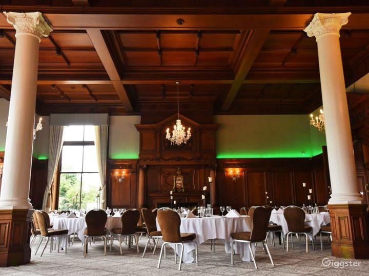Impressive Oak Room in York