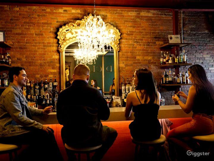 Modern Speakeasy Lounge in Downtown Syracuse