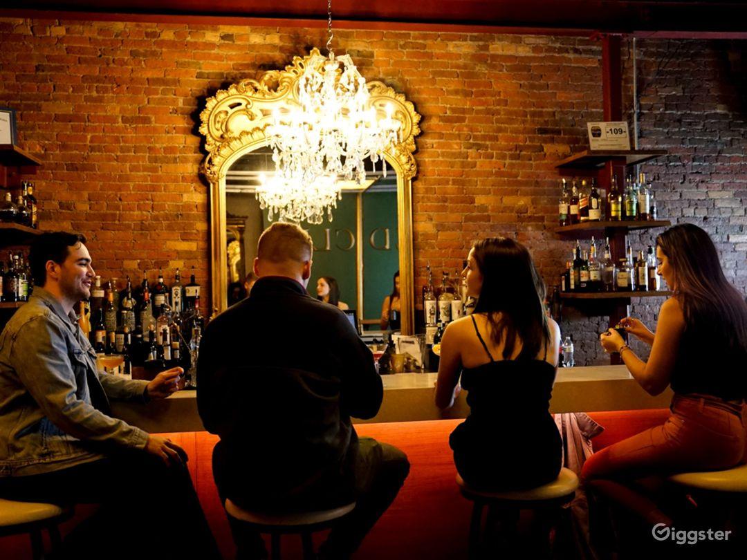 Modern Speakeasy Lounge in Downtown Syracuse Photo 1