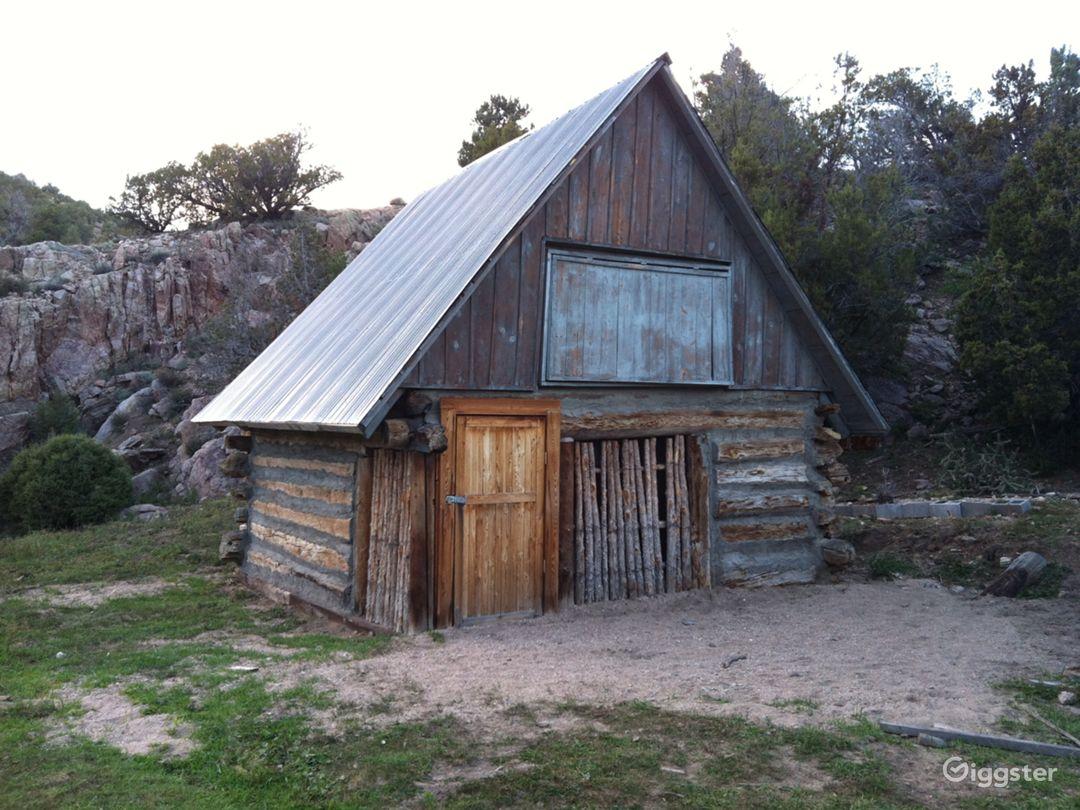 Cundiyo, New Mexico streamside farm with cabin Photo 3