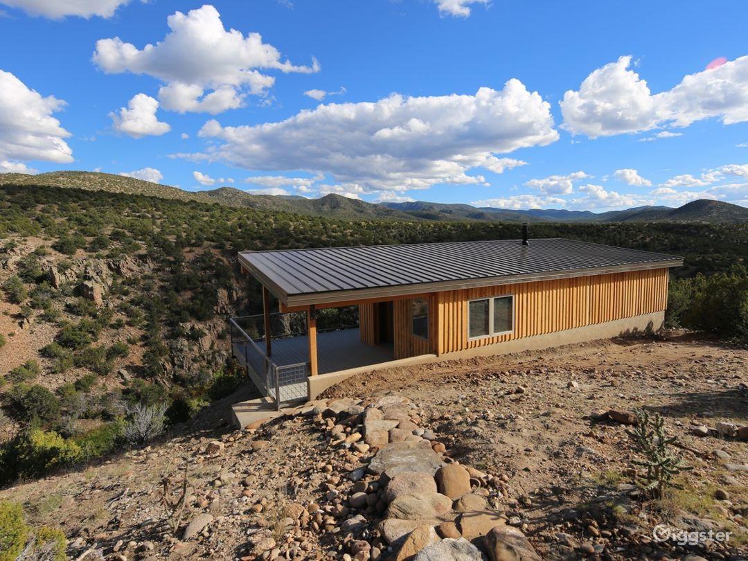 Cundiyo, New Mexico streamside farm with cabin Photo 1