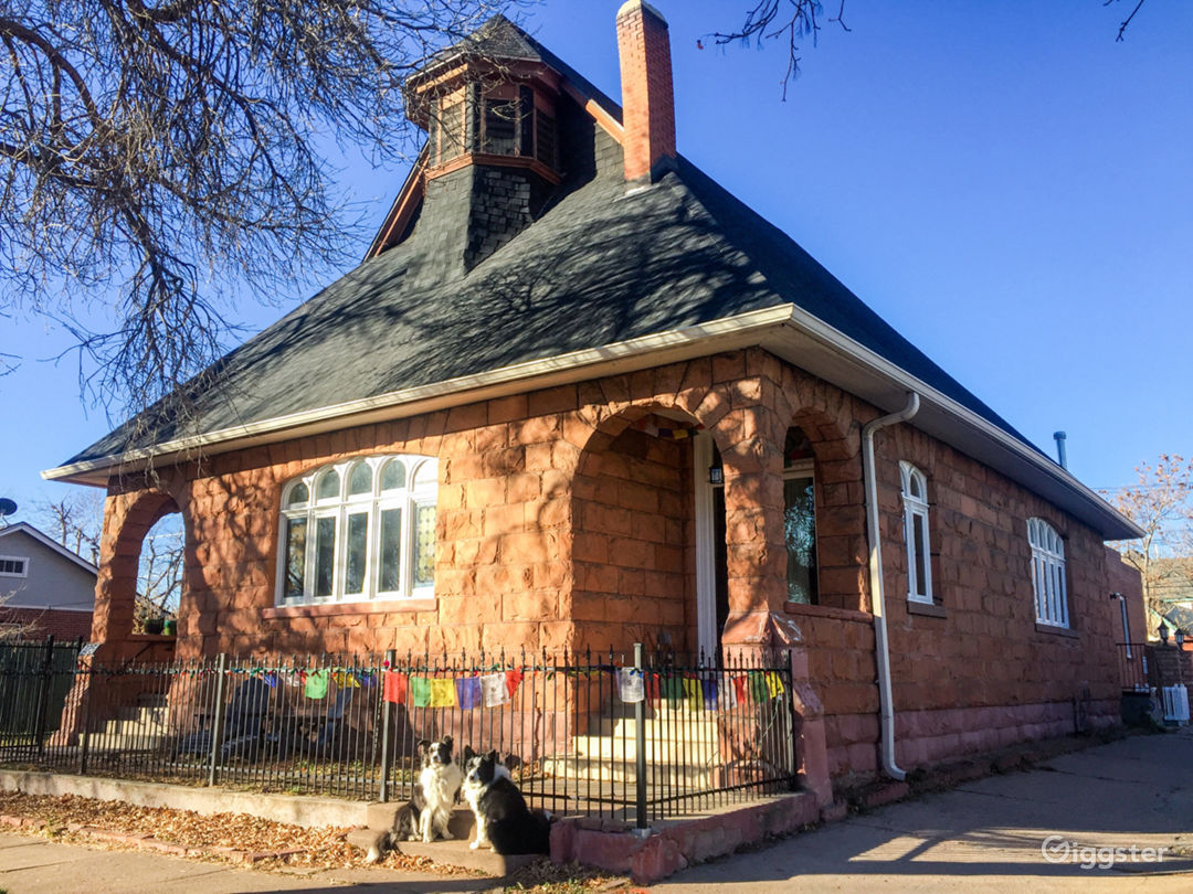 The Sanctuary Studio, built in 1896, renovated 2017.