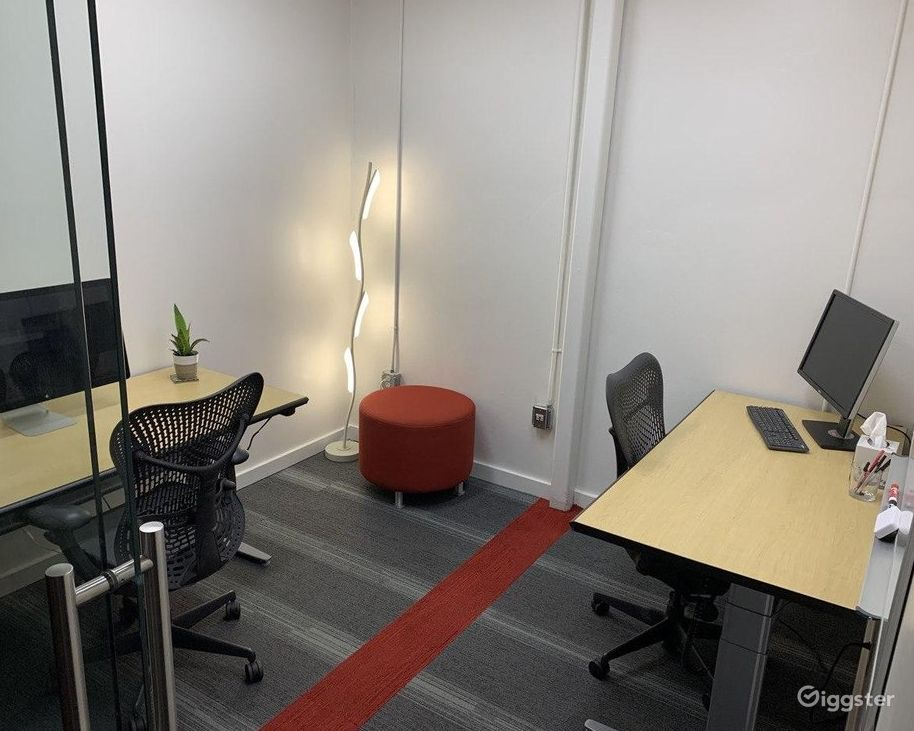 Gleaming and Sleek Private Office  Photo 1