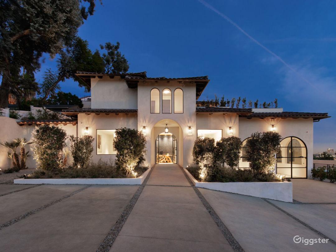 Contemporary Spanish Hollywood Estate Photo 1