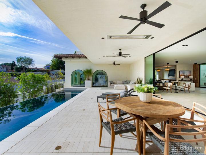 Contemporary Spanish Hollywood Estate Photo 3