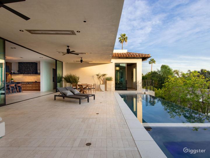 Contemporary Spanish Hollywood Estate Photo 4