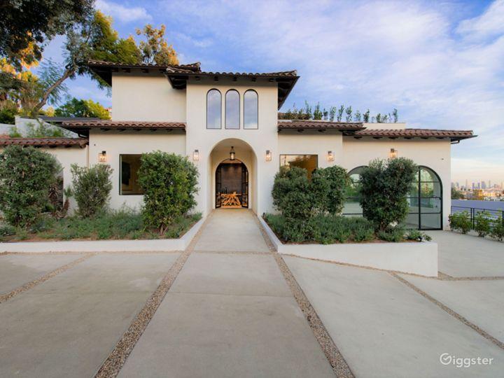Contemporary Spanish Hollywood Estate Photo 2