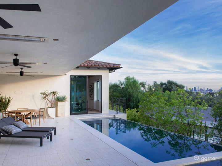 Contemporary Spanish Hollywood Estate Photo 5
