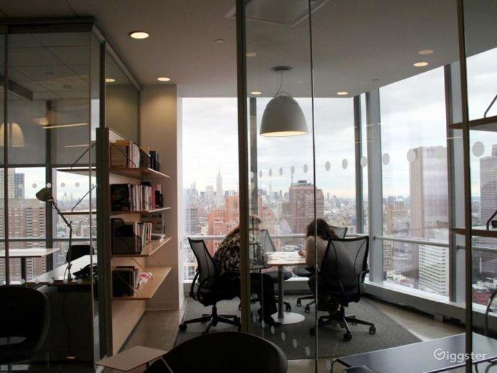 Modern skyscraper offices: Location 4232 Photo 3