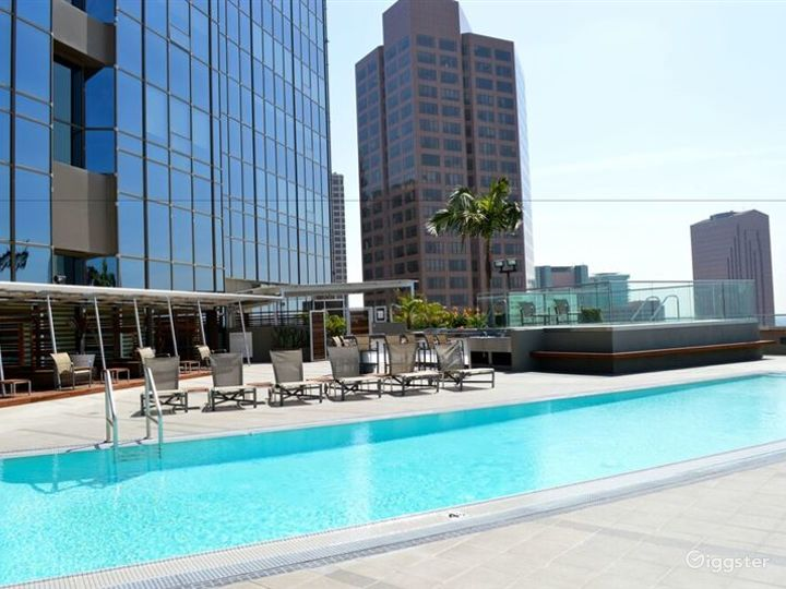 Charming Outdoor Pool in LA Photo 3