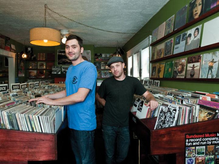 Premium Record Store Venue Photo 2