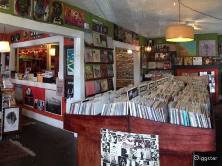 Premium Record Store Venue