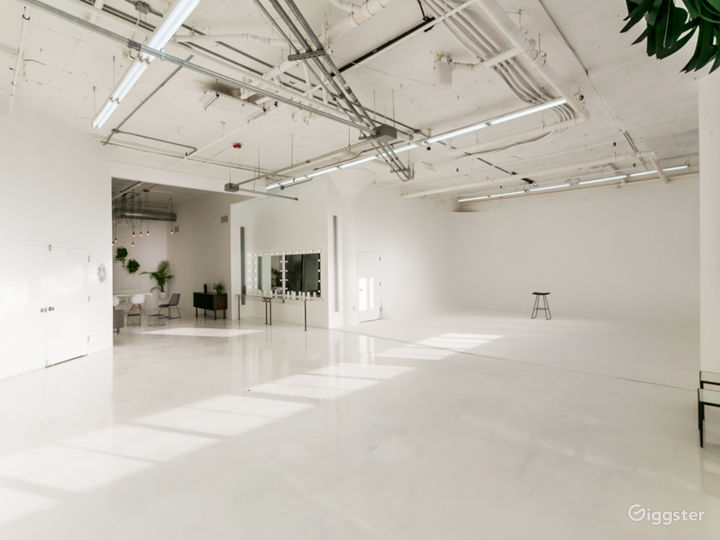 Elegant Light Filled w/ Cyc Wall for Events Photo 3