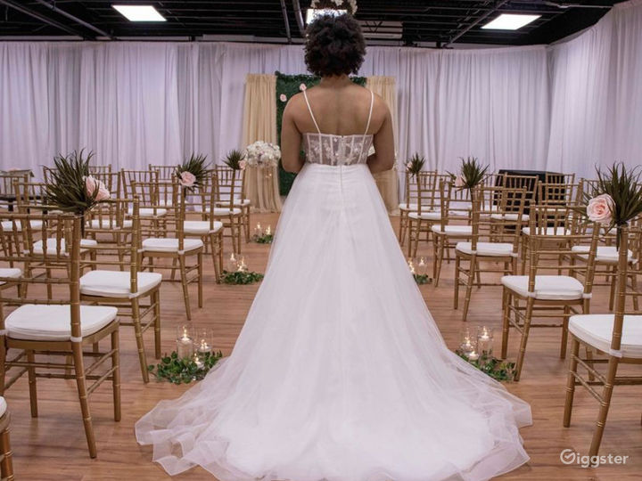 We specialize in weddings with up to 75 guests.
