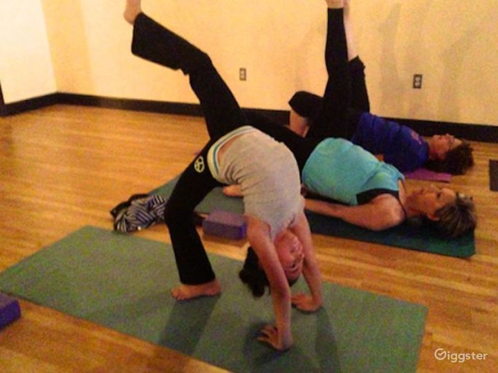 Serene, Bright, and Open, Flooded with Natural Sunlight Yoga Studio in EastSide Albuquerque Photo 5