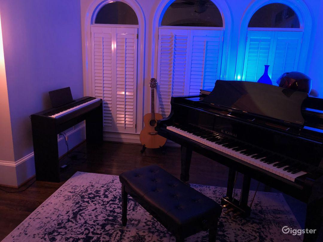 Upscale in Buckhead with Beautiful Piano Room Photo 1
