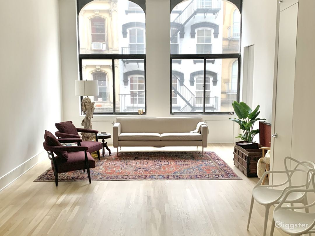 Modern Tribeca Loft with high ceilings Photo 1